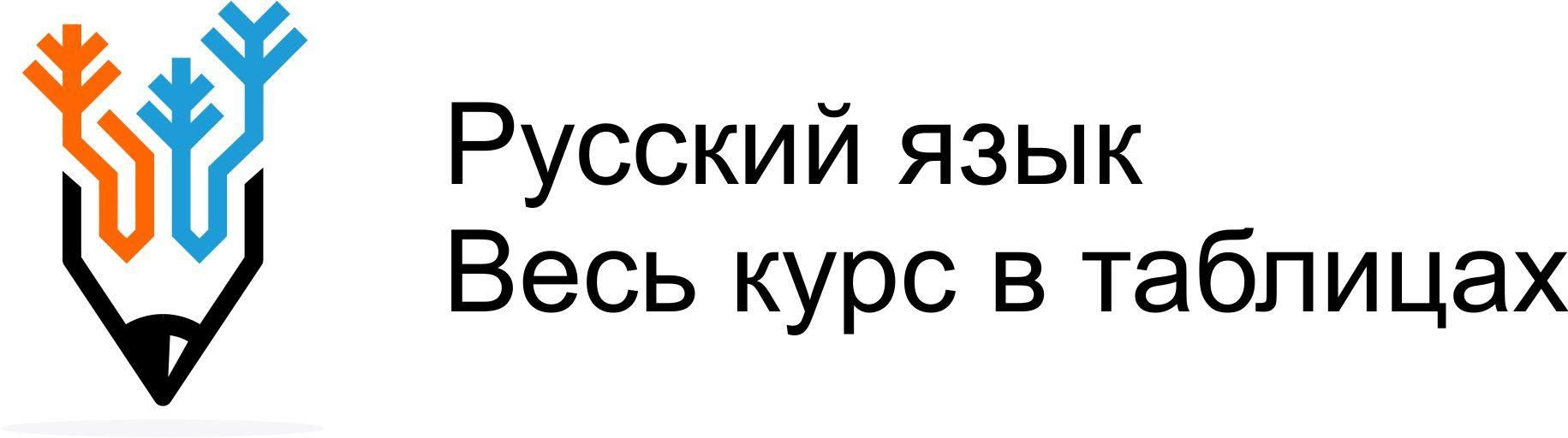 Русский язык по таблицам
